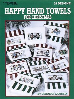 Happy Hand Towels For Christmas (Leisure Arts #3031)