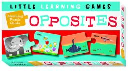 Matching Puzzle Cards: Opposites