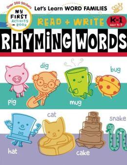 Read + Write: Rhyming Words