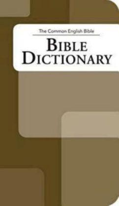 Common English Bible: Bible Dictionary