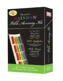Rainbow Bible Accessory Kit
