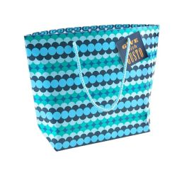 Jonathan Adler Blue Circles Print Gift Bag - Set of 2