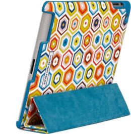 Jonathan Adler Honeycomb iPad Case with Smart Cover