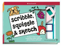 Scribble, Squiggle, & Sketch: 75 easy-to-draw doodles to decorate stickers, gift bags, picture frames, and more!