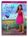 Book Cover Image. Title: Saige Paints the Sky (Girl of the Year 2013 #2), Author: Jessie Haas