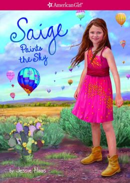 Saige Paints the Sky (American Girl of the Year Series)