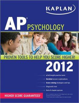 Kaplan AP Psychology 2012