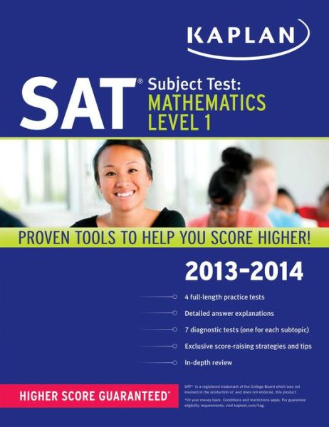 Kaplan SAT Subject Test Mathematics Level 1 2013-2014