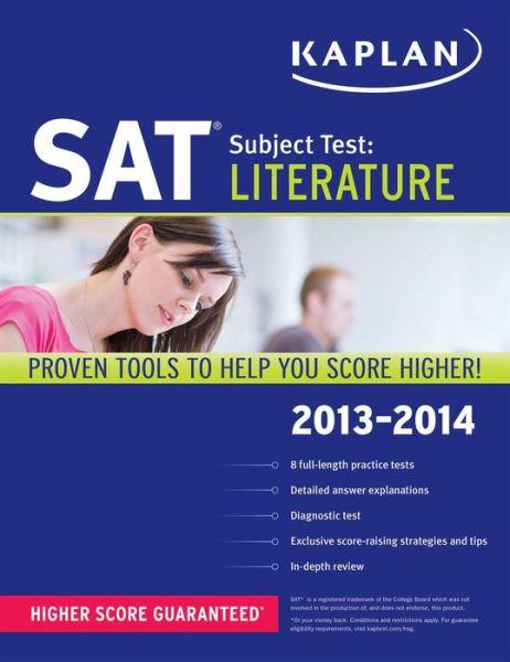 Kaplan SAT Subject Test Literature 2013-2014