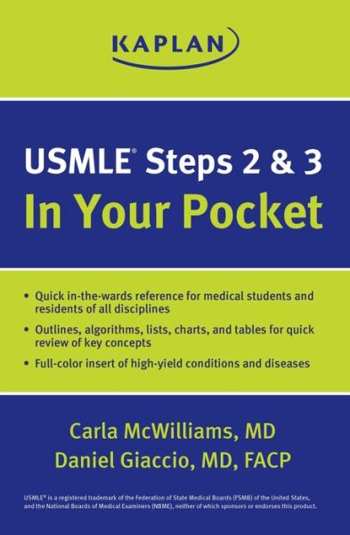 USMLE Steps 2 and 3: In Your Pocket