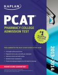 Book Cover Image. Title: Kaplan PCAT 2013-2014, Author: Kaplan