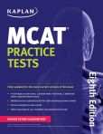 Book Cover Image. Title: Kaplan MCAT Practice Tests, Author: Kaplan