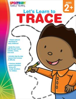 Spectrum Let's Learn to Trace, Ages 2+