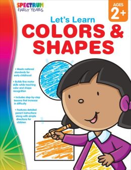 Spectrum Let's Learn Colors and Shapes, Ages 2+