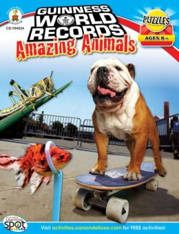 Guinness World Records Amazing Animals, Ages 8+
