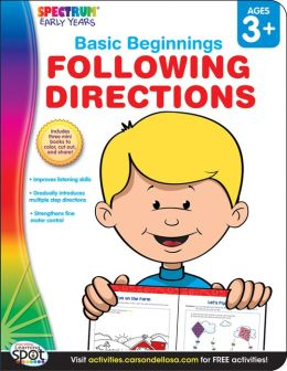 Following Directions, Ages 3+