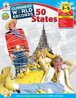 Guinness World Records 50 States, Grades 3-5
