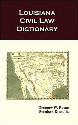 Louisiana Civil Law Dictionary
