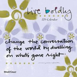 Live Boldly Calendar