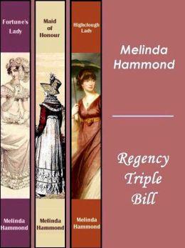Melinda Hammond: Regency Triple Bill