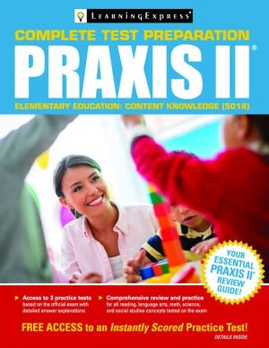 Praxis II: Elementary Education Content Knowledge (5018)