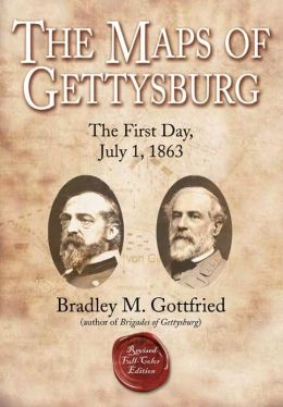 The Maps of Gettysburg: The First Day, July 1, 1863