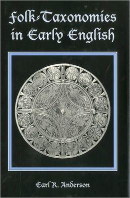 Folk-Taxonomies in Early English