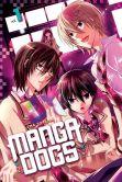 Book Cover Image. Title: Manga Dogs 1, Author: Ema Toyama