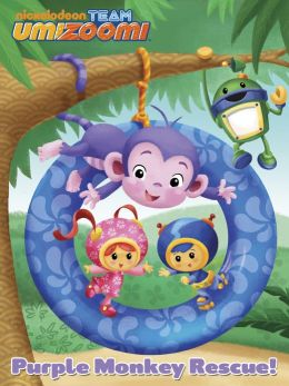 Purple Monkey Rescue (Team Umizoomi) (PagePerfect NOOK Book)