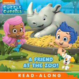 A Friend At The Zoo! (Bubble Guppies) (PagePerfect NOOK Book)