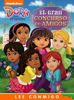 El Gran Concurso de Amigos Lee Conmigo Libro de Cuentos (Dora and Friends)