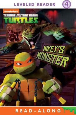 Mikey's Monster Read-Along Storybook (Teenage Mutant Ninja Turtles)