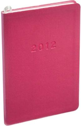 2012 Weekly Desk Pink Sand Planner Calendar