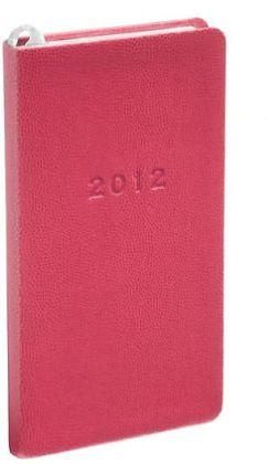 2012 Weekly Pocket Pink Sand Planner Calendar