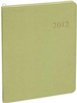 2012 Monthly Large Sage Elegant Planner Calendar