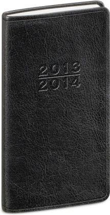 2014 18-Month Monthly Pocket Black Cambridge Planner Calendar