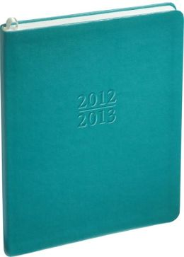 2013 Weekly Large Family Teal Sand Planner