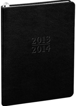 2014 18-Month Weekly Large Black Cambridge Family Planner Calendar