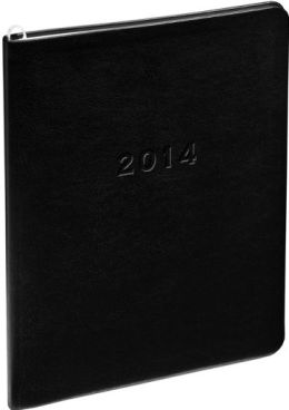 2014 Monthly Large Black Cambridge Planner