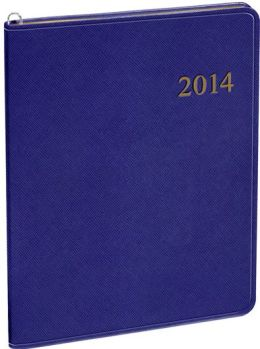 2014 Monthly Large Purple Cartier Planner