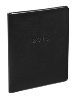 2015 Monthly Large Black Cambridge Planner
