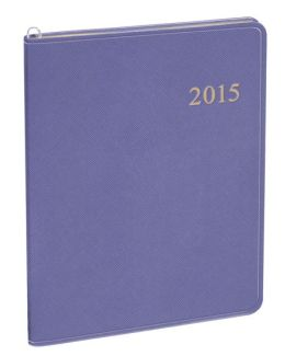 2015 Monthly Large Purple Cartier Planner