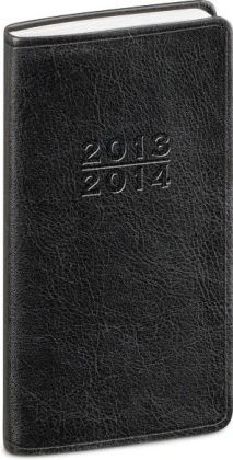 2014 18-Month Weekly Pocket Black Cambridge Planner Calendar