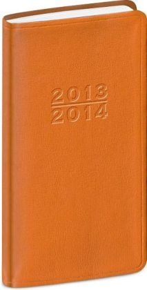 2014 18-Month Weekly Pocket Orange Cambridge Planner Calendar