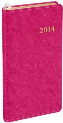 2014 Weekly Pocket Honeysuckle Cartier Planner