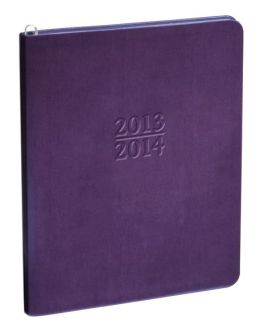 2014 Large Academic Purple Metal Kid
