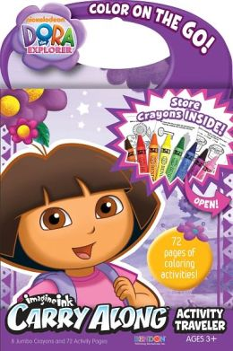 Dora Carry Along Activity Traveler