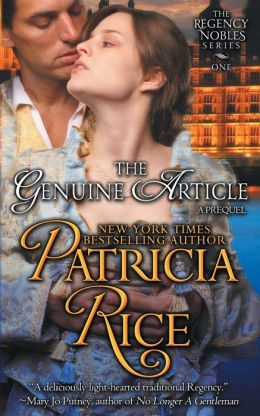The Genuine Article (Regency Nobles Series, Book 1)
