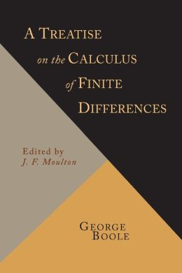 A Treatise on the Calculus of Finite Differences [1872 Revised Edition]