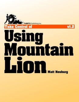 Take Control of Using Mountain Lion